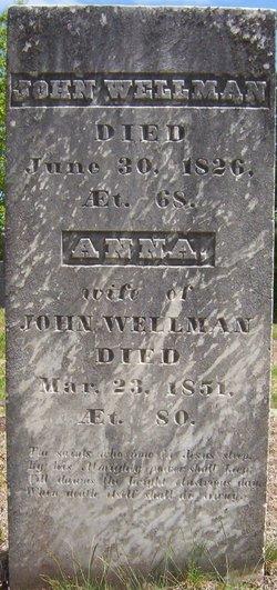 Anna <i>Thissell</i> Wellman