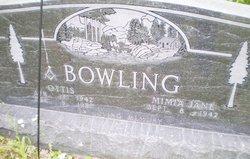 Mimia Jane <i>Griffith</i> Bowling