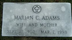 Marian C Adams