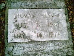 Thomas Richard Tom Hamme, Sr