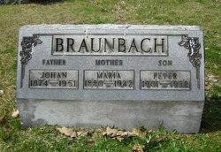 Maria <i>Spiegel</i> Braunbach