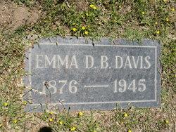 Emma D. <i>Barnes</i> Davis