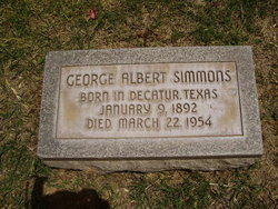 George Albert Simmons