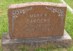 Mary Frances <i>Troxel</i> Sanders
