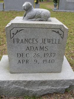 Frances Jewell Adams