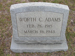 Worth C. Adams