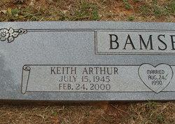 Keith Arthur Bamsey