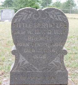Bertie Lee Brewer