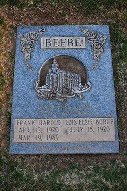 Frank Harold Beebe