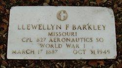 Llewellyn F Barkley