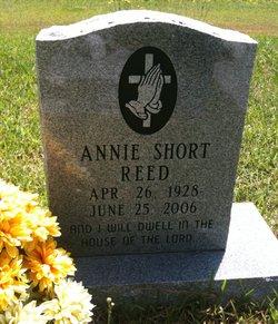 Annie Ruth Elizabeth <i>Short</i> Reed