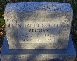 N. Janet <i>Scott</i> Brooks