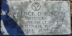 Sgt Lawrence Dean Burgess