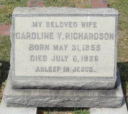 Caroline Virginia <i>Edwards</i> Richardson