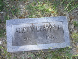 Alice Virginia <i>Slaughter</i> Chappell