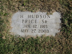 Hubert Hudson Price, Sr