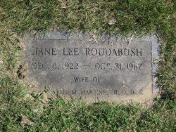 Jane Lee <i>Roudabush</i> Harpine