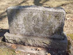 Charity Ann <i>Davidson</i> Acker
