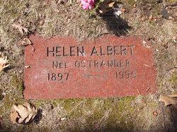 Helen <i>Ostrander</i> Albert