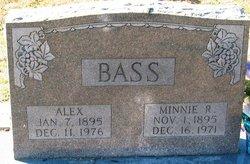 Minnie R Bass