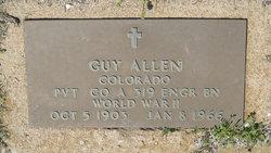 Pvt Guy Allen
