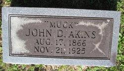 John D Muck Akins