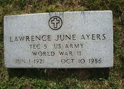 Lawrence June Ayers