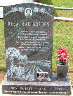 Reba Mae <i>Martin</i> Borden