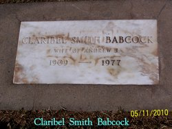 Claribel <i>Smith</i> Babcock