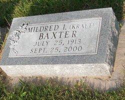 Mildred I <i>Kraft</i> Baxter