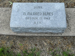 Sr M. Mildred Blaes