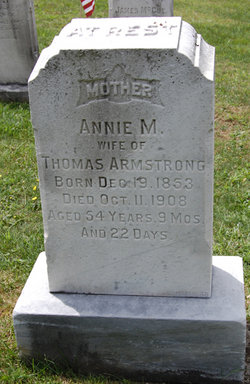 Annie Myers <i>Hagen</i> Armstrong