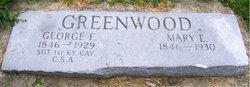 Mary E Greenwood