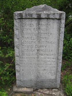 Concord Men Slain By Indians