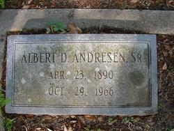 Albert D Andresen, Sr