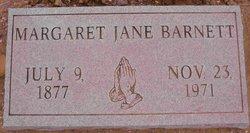 Margaret Jane Maggie <i>Reynolds</i> Barnett