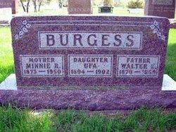 Minnie R <i>Crumbaker</i> Burgess