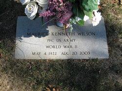 Maurice Kenneth Wilson
