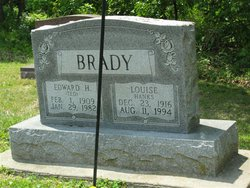 Gladys Louise <i>Hanks</i> Brady
