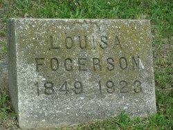 Louisa <i>Hanks</i> Fogerson