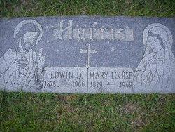 Edwin D Harris