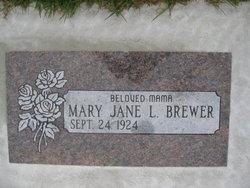 Mary Jane L. Brewer