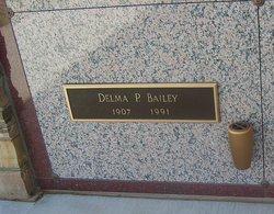 Delma P. Bailey