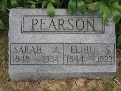 Sarah A Pearson