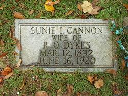 Sunie I. <i>Cannon</i> Dykes