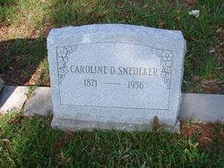 Caroline Dale Snedeker