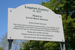 Langsford Cemetery