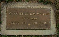 Pvt Charlie M. Bromfield