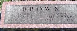 Emily F. <i>Pond</i> Brown