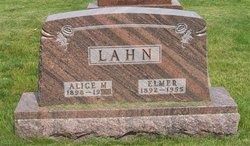 Alice M. <i>Overbach</i> Lahn